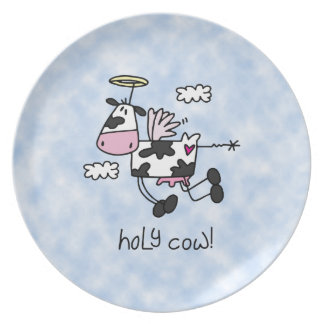 Holy Cow! Dinner Plate