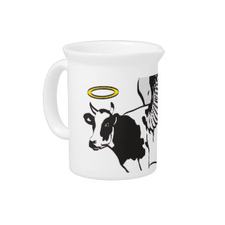 HOLY COW DRINK PITCHER