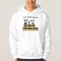 HOLY COW FAMILY-ADD YOUR OWN WORDS HOODIE