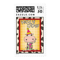 Holy Cow - Graduation Party Postage