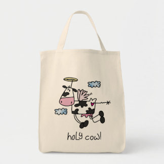 Holy Cow! Grocery Tote Bag
