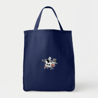 Holy Cow! grocery tote Grocery Tote Bag
