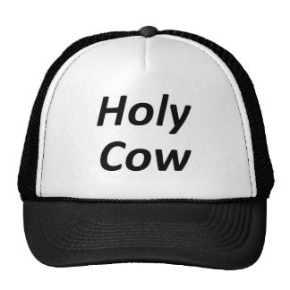 Holy Cow Mesh Hat