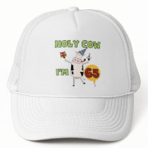 Holy Cow I'm 65 Birthday T-shirts and Gifts Trucker Hat