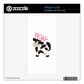 Holy Cow iPhone 4S Decals
