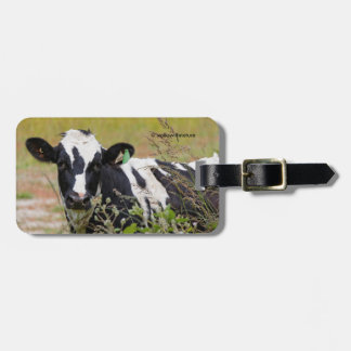 Holy Cow! It's a Holstein Friesian! Luggage Tag
