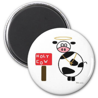 holy cow! refrigerator magnets