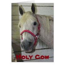 HOLY COW ***MERRY CHRISTMAS*** TO YOU CARD