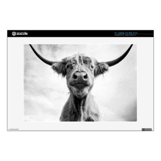 """Holy Cow Mesotint Style Art Photography Decal For 13"""" Laptop"""