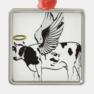 HOLY COW METAL ORNAMENT