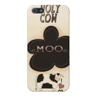 Holy Cow Moo Speck® Fitted™ Case iPhone 4 iPhone 5 Cover