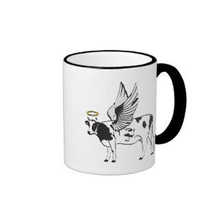 HOLY COW RINGER COFFEE MUG