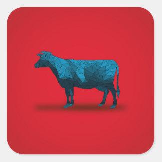 Holy Cow... No.1 Farm Series Square Sticker