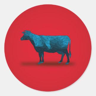 Holy Cow... No.1 Farm Series Round Sticker
