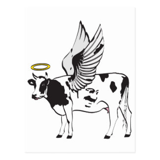HOLY COW POSTCARD
