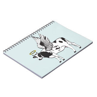 HOLY COW SPIRAL NOTEBOOK