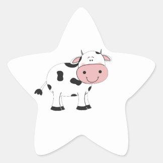 Holy Cow Star Sticker