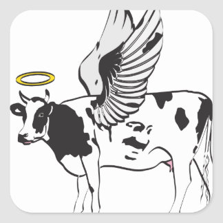 HOLY COW STICKER