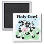 Holy Cow Tshirts and Gifts Fridge Magnet