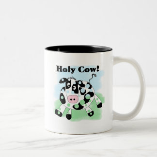 Holy Cow Tshirts and Gifts Two-Tone Coffee Mug