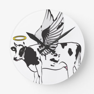 HOLY COW WALL CLOCK