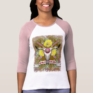 HOLY COWGIRL RODEO Western T Shirts