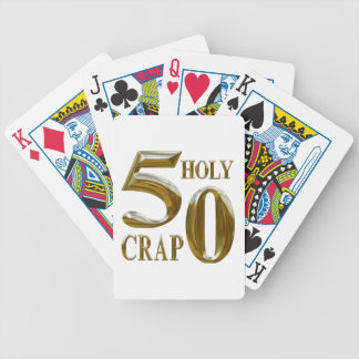 Holy Crap Bicycle Playing Cards