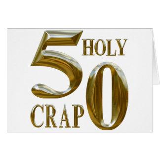 Holy Crap Card