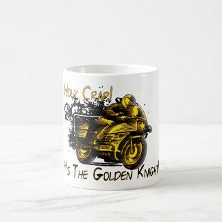 Holy Crap! Golden Knight! Mugs