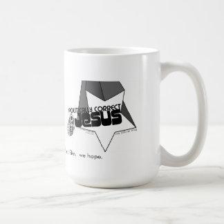 holy crap!  it's the politically correct jesus mug