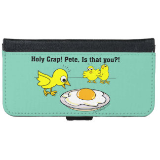 Holy Crap! Pete Humor iPhone 6 Wallet Case