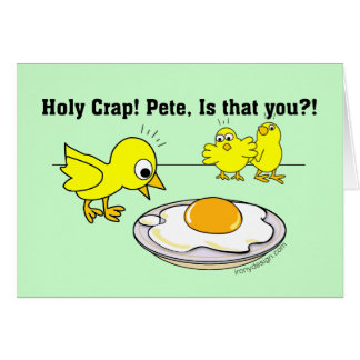 Holy Crap! Pete, is that you? Card