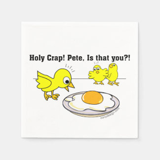 Holy Crap! Pete, is that you? Paper Napkin