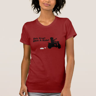 Holy Crap! What A Ride- Scooter Fun T-Shirt