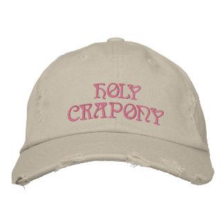 HOLY CRAPONY CAP