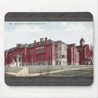 Holy Cros Hospital Salt Lake City, Utah, Vintage Mousepad