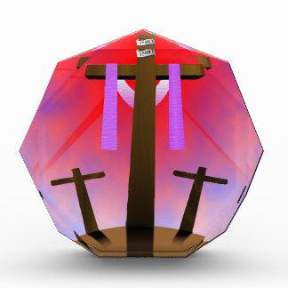 Holy Cross Acrylic Award