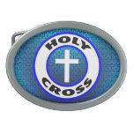 Holy Cross Belt Buckles