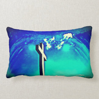 Holy Cross Blue Earth Throw Pillow
