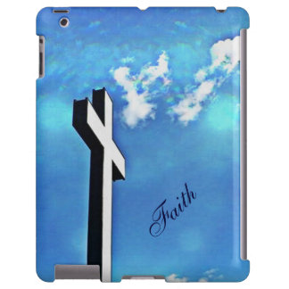 Holy Cross Blue Skies iPad Case