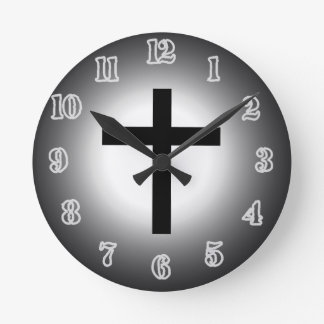 Holy Cross Clock. Round Clock