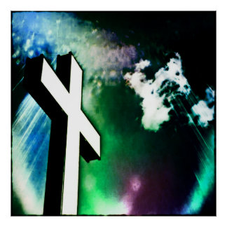 Holy Cross Devine Color Poster