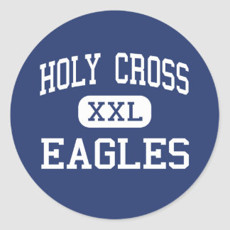 Holy Cross Eagles Middle New Orleans Classic Round Sticker