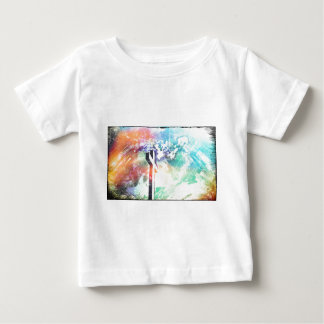 Holy Cross Pastel Distressed Baby T-Shirt