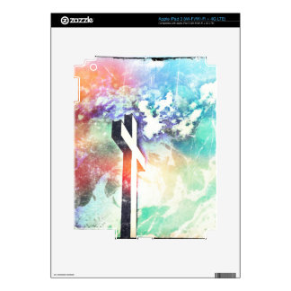 Holy Cross Pastel Distressed iPad 3 Decals