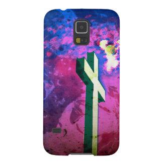 Holy Cross Raspberry/Blue Velvet Galaxy S5 case