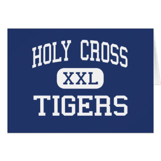 Holy Cross Tigers Middle Los Angeles Card