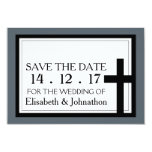 Holy Cross Wedding Save The Date Card