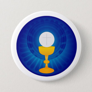 Holy Eucharist Button