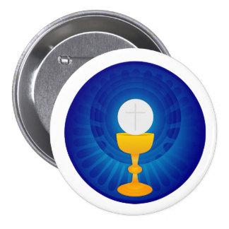 Holy Eucharist Button